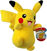 "Pokemon Pikachu 8"" Plush - Officially Licensed and Stuffed Animal Material"